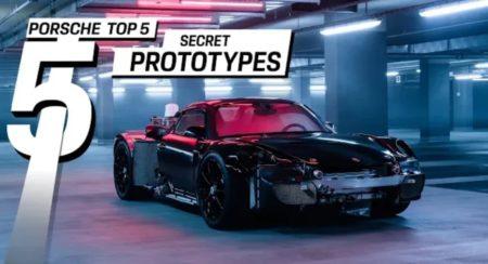 Porsche's secret prototypes featured