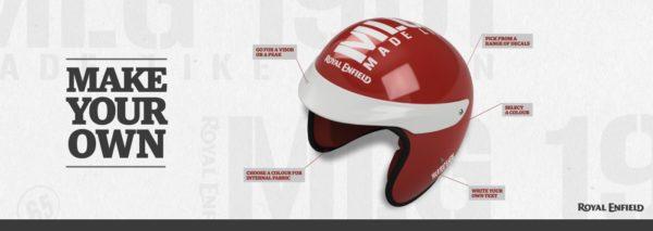 Royal Enfield Helmet customisation
