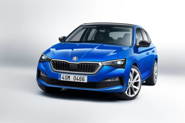 SKODA SCALA front end