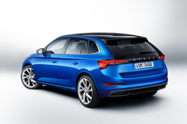 SKODA SCALA rear quarter