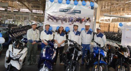 Suzuki Motorcycles Cross the 4 Million Sales Mark in India
