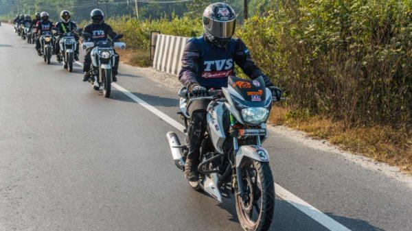 TVS Apache Owners Group Ride To Bhutan (1)