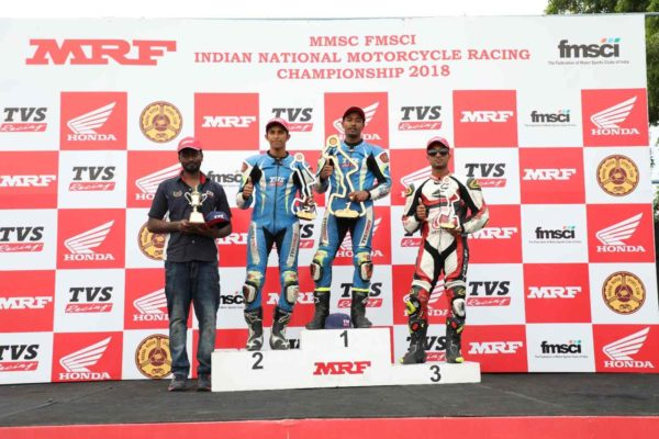TVS Racing and Jagan Kumar wins Indian National Motorcycle Racing Championship for the 7th consecutive time (1)