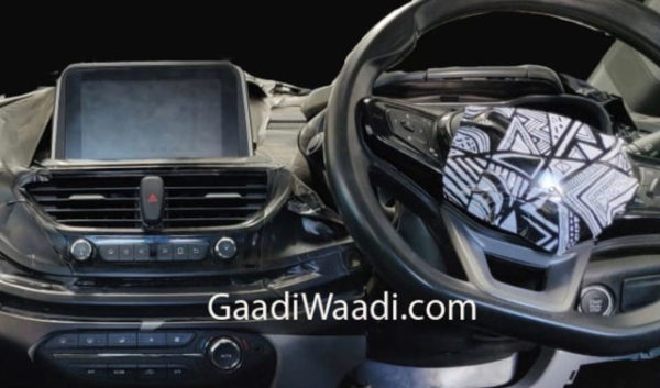 Tata 45X Interior close up