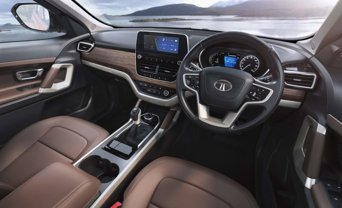 Tata Harrier Cabin (2)