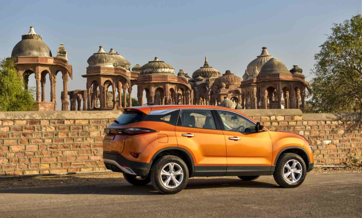 Tata Harrier side shot (11)