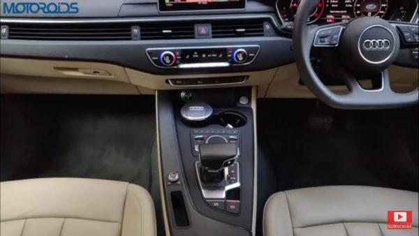 Audi A5 review centre console