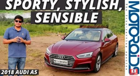 Audi A5 review featured