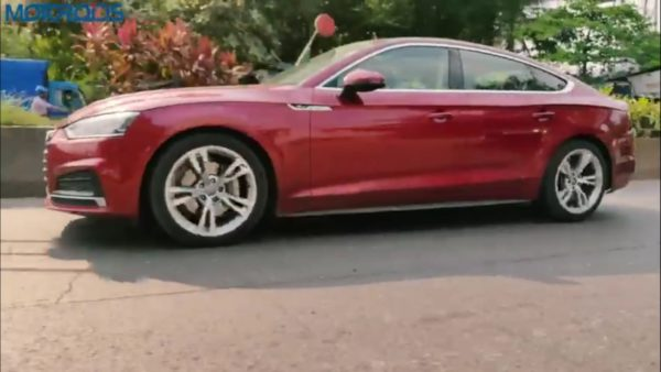 Audi A5 review side low