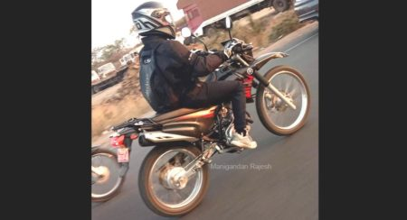 SPIED: Yamaha XTZ 125 on Indian Roads