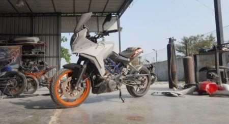 Can't Wait For The Adventure 390? Turn Your KTM Duke Into A Proper Tourer With This Kit