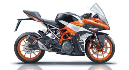 Next-Gen KTM RC390 Render Previews The Upcoming Upgrade