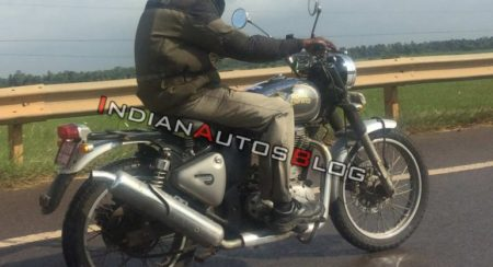 Mysterious Royal Enfield Scrambler Seen Again