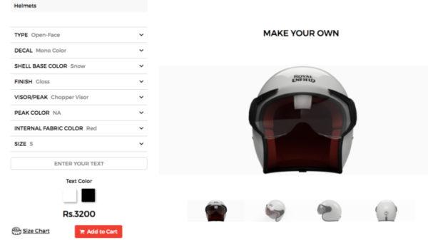 royl enfield helmet customisation featured
