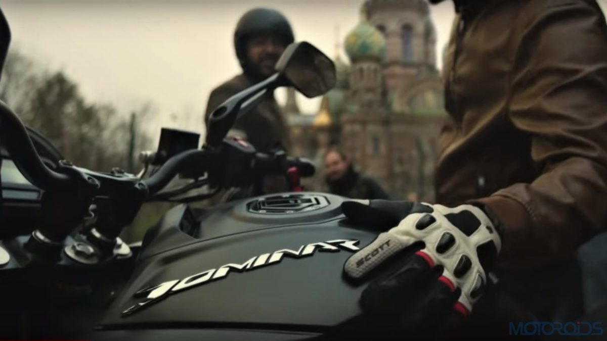 2018 Bajaj Dominar Black
