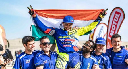 Dakar 2019: Aravind KP Successfully Completes One Of The Toughest Editions Of The Rally