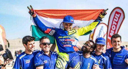 2019 Dakar Rally Sherco TVS Rally Factory Aravind KP(2)