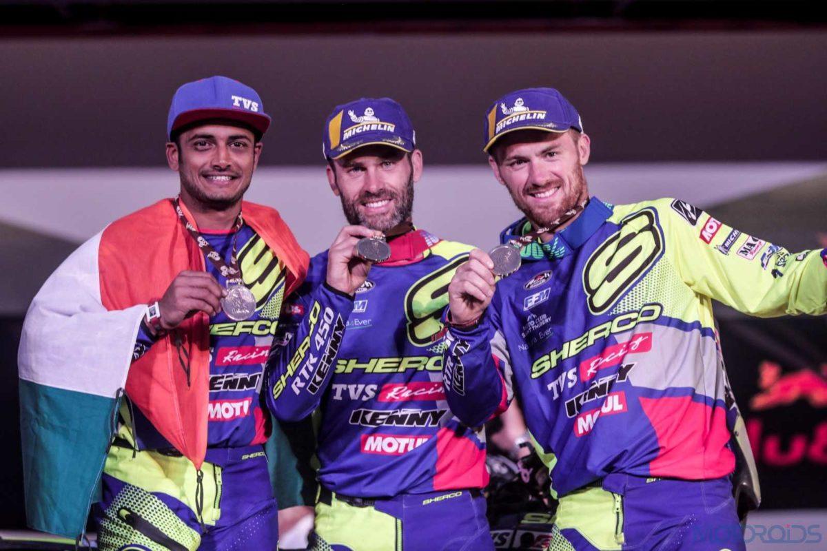 2019 Dakar Rally Sherco TVS Rally Factory Riders(4)