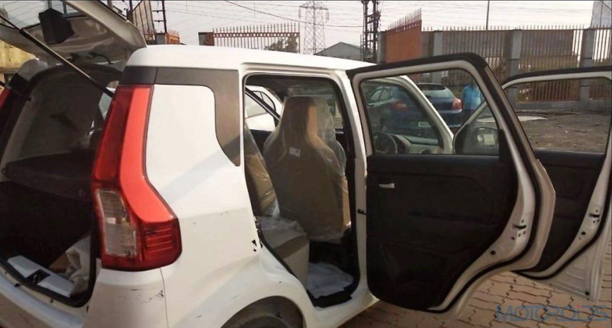 2019 Maruti Suzuki Wagon R rear section