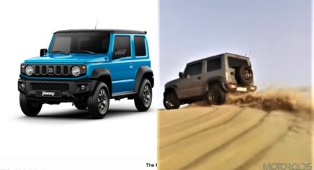 2019 Suzuki JImny Sand dunes