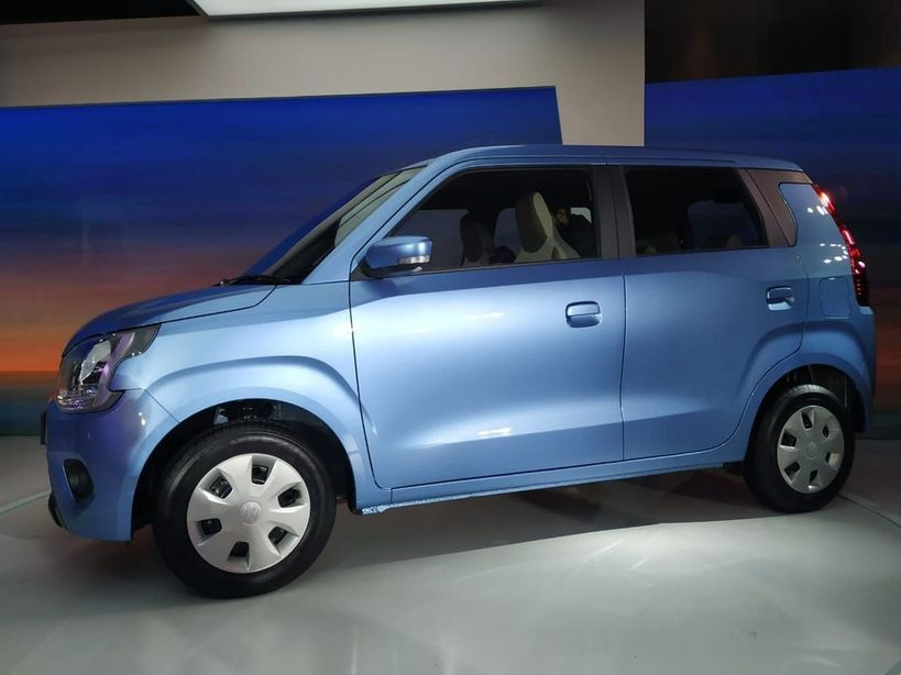 Accessories of new WagonR side