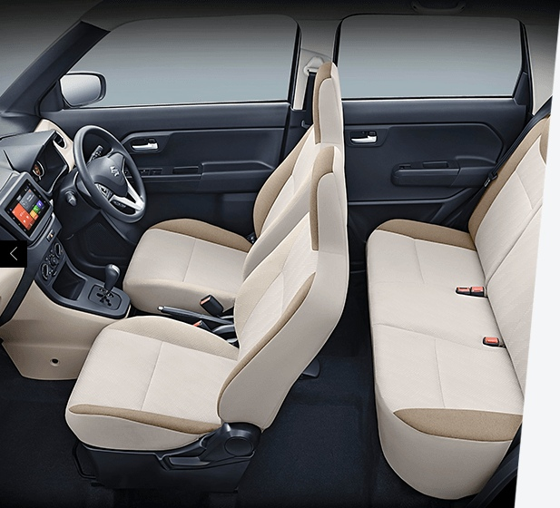 All new Big WagonR Interior
