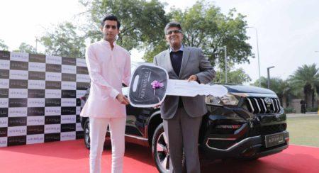 Alturas G4 presented to His Highness Maharaja Sawai Padmanabh Singh of J... (1)