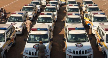 Andhra Pradesh police gets TUV 300 fleet