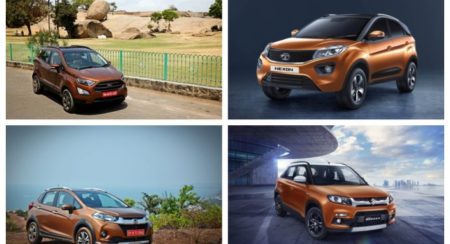 Compact SUV collage