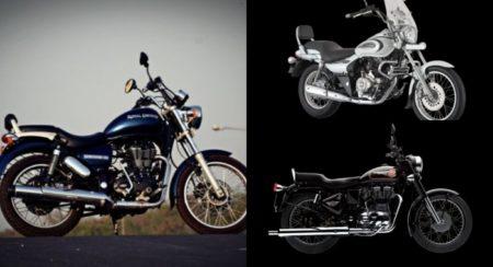 Cruiser bikes under 1.5 Lakh