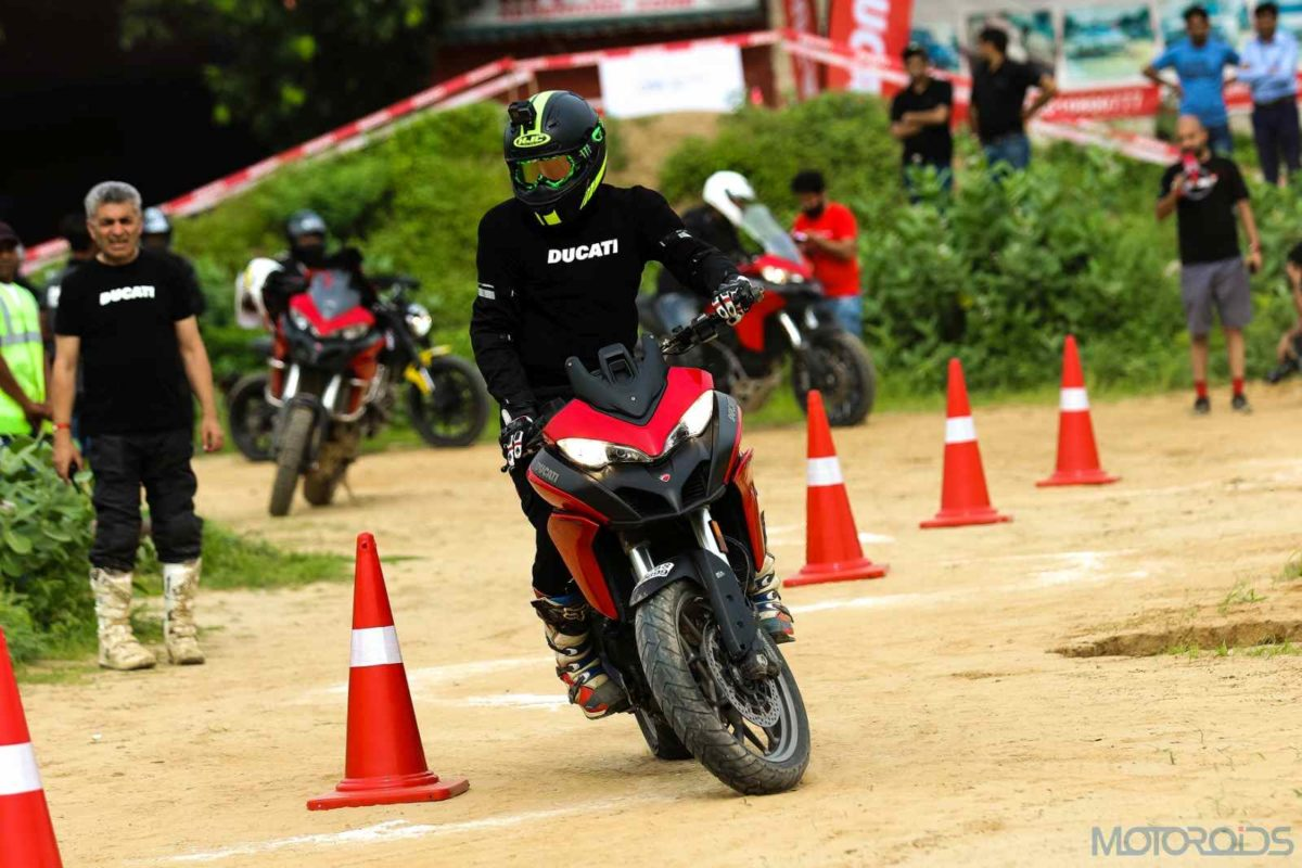 DUCATI DRE Off road days Multistrada 950(2)