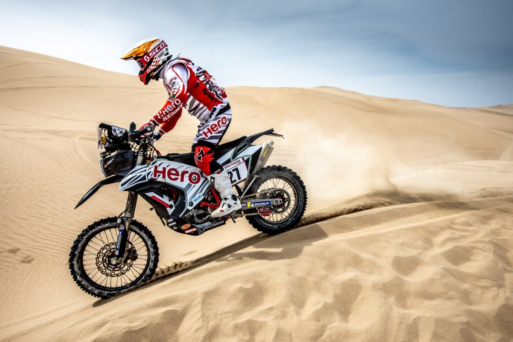Hero MotoSports Dakar Rally stage Rodrigues