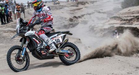 Dakar 2019, Stage 3: Oriol Mena Crosses The Line In 8th For Team Hero Motosport