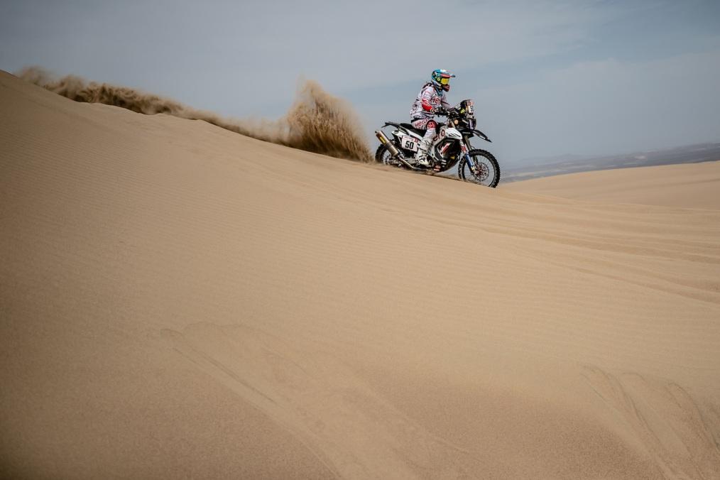 Hero MotoSports Team Rally rider, CS Santosh (1)