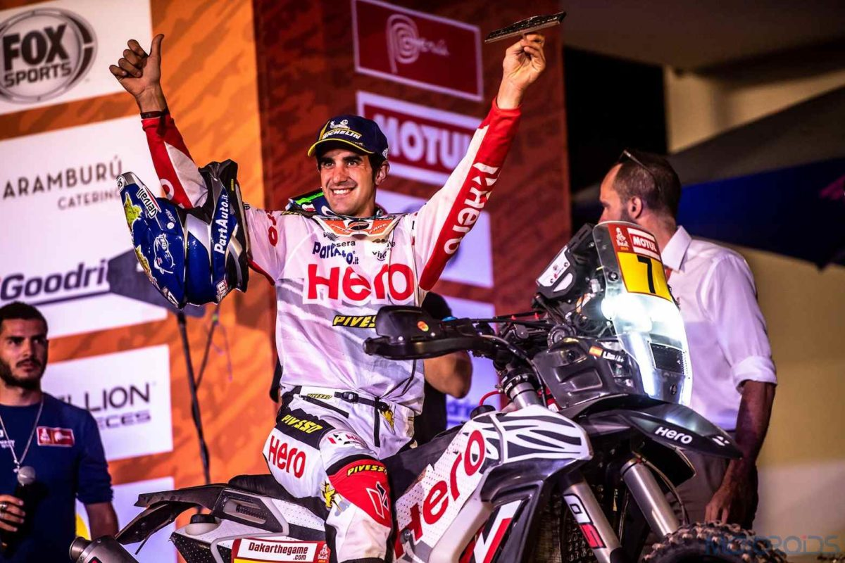 Hero MotoSports Team Rally rider, Oriol Mena (1)