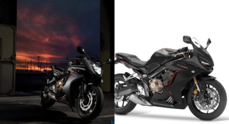 Honda CBR 650F and CBR 650R