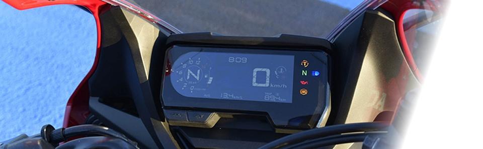 Honda CBR650R dashboard