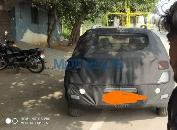 Hyundai QXi Spyshot rear
