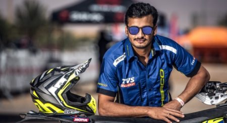 Aravind KP Gears Up For His Third Dakar Rally With The Sherco TVS Factory Rally Team