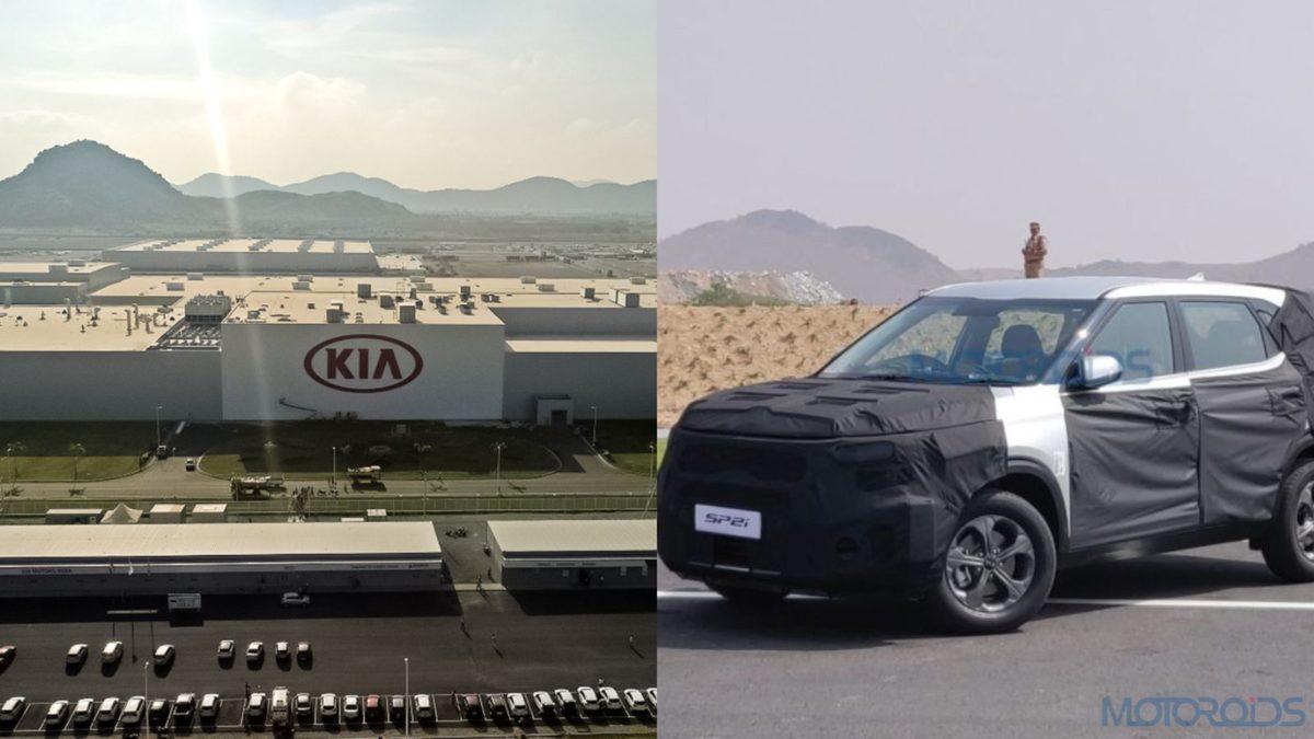 Kia Motors India SP2i collage