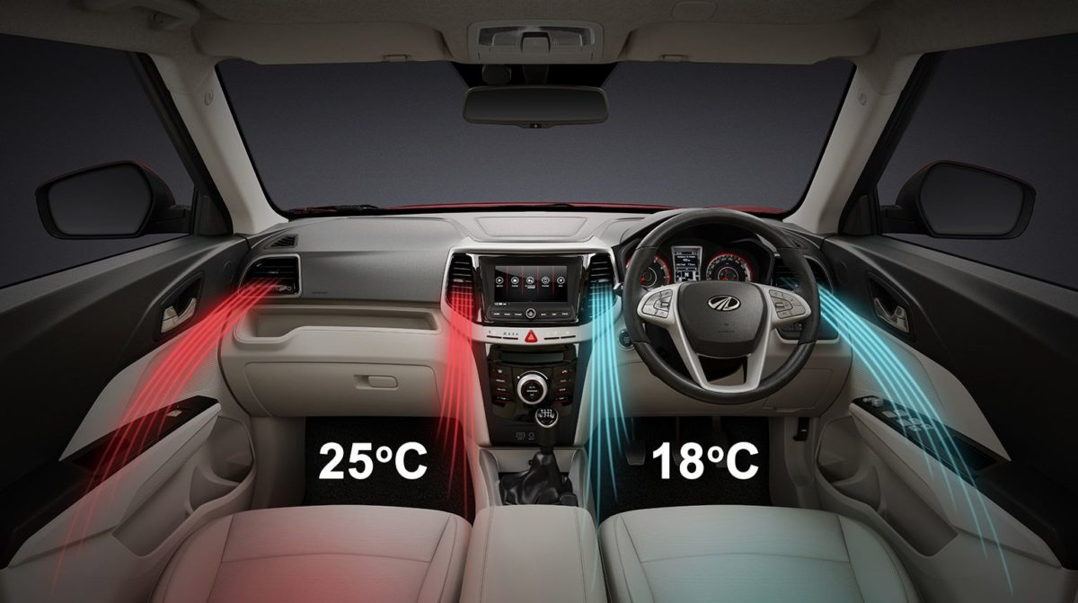 Mahindra XUV 300 dual zone climate control(2)