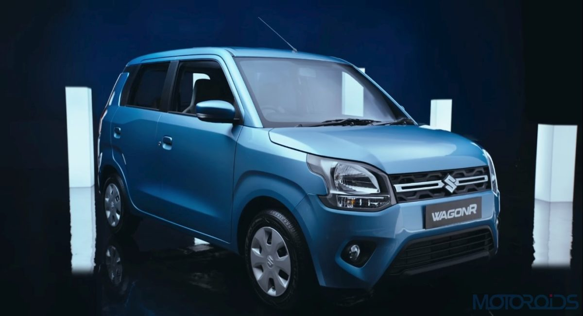 Maruti Suzuki Big New WagonR Front Three Quarters
