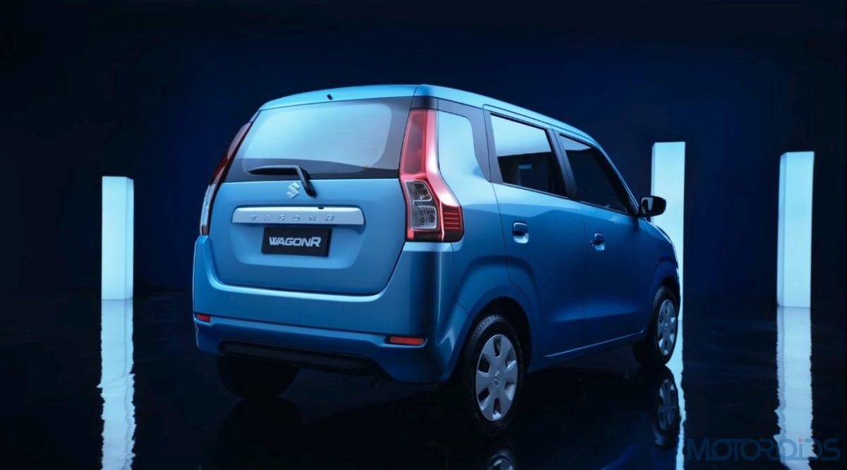 Maruti Suzuki Big New WagonR Side Profile Rear