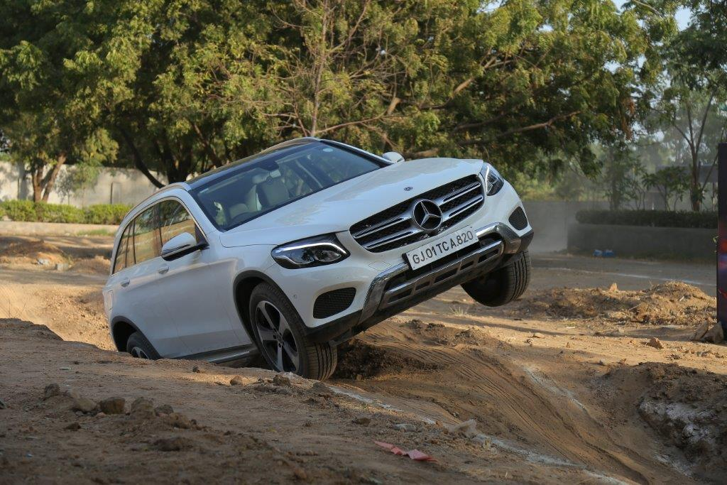 Mercedes Benz Brand tour 2019 GLC Off road