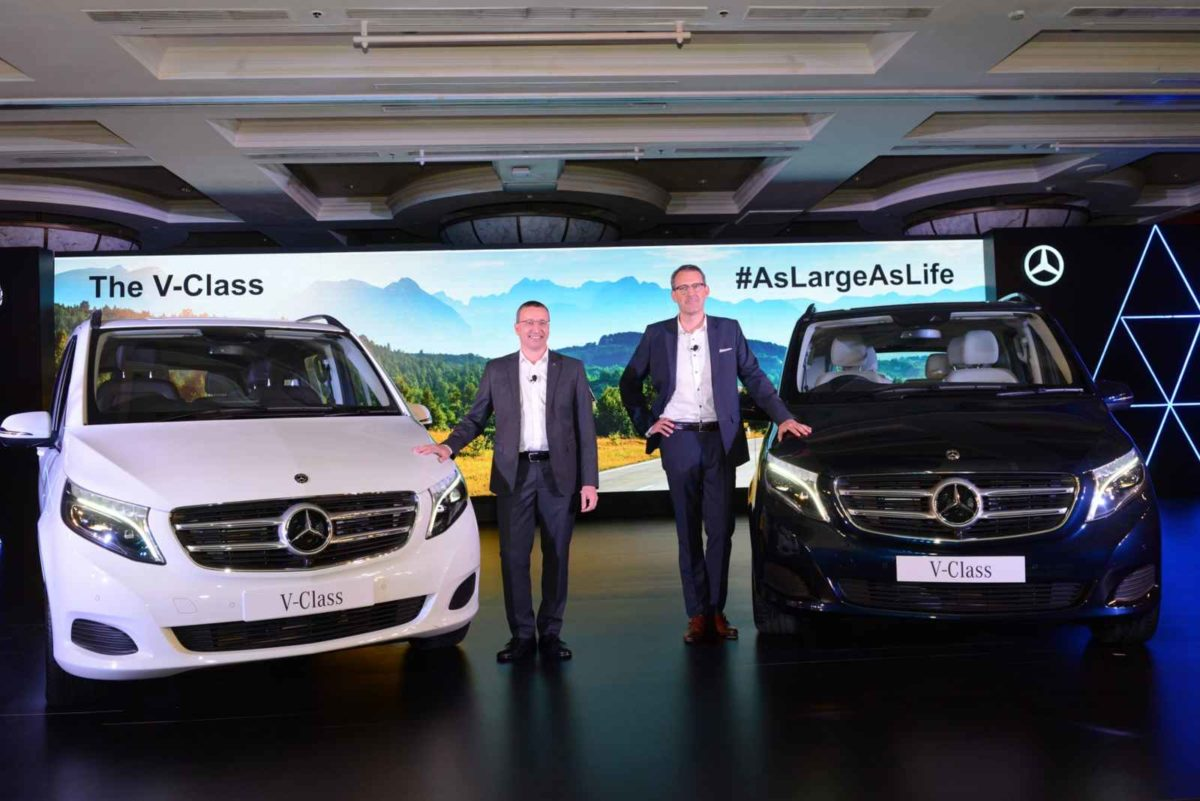 Mercedes Benz V Class launch featured