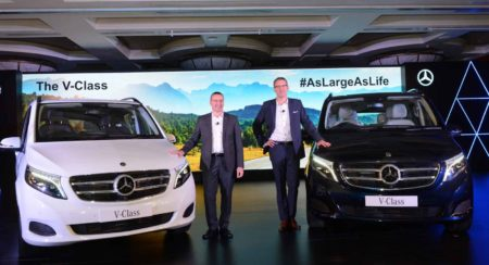 Mercedes Benz V-Class launch featured