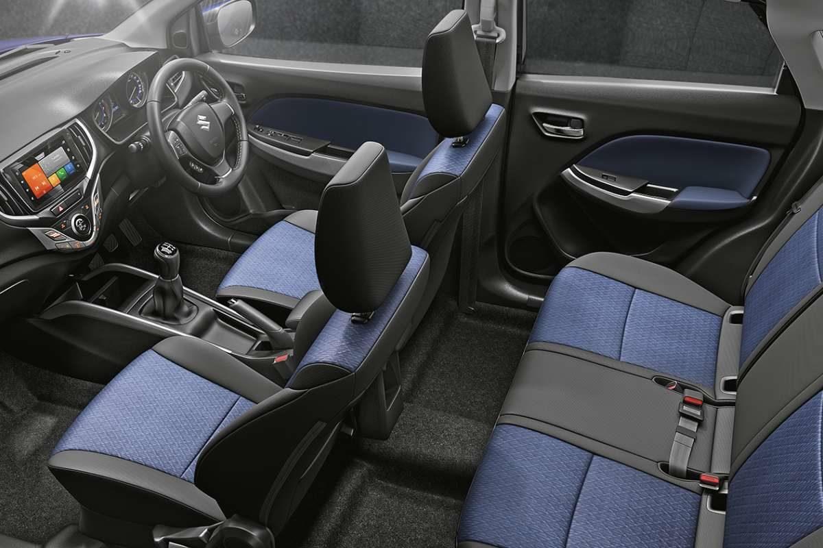 New 2019 Suzuki Baleno interior