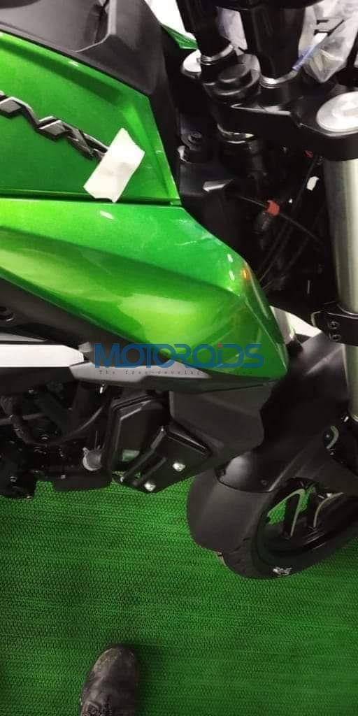 New Dominar spied in green tank