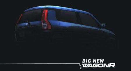 Maruti Suzuki Teases The New 2019 WagonR