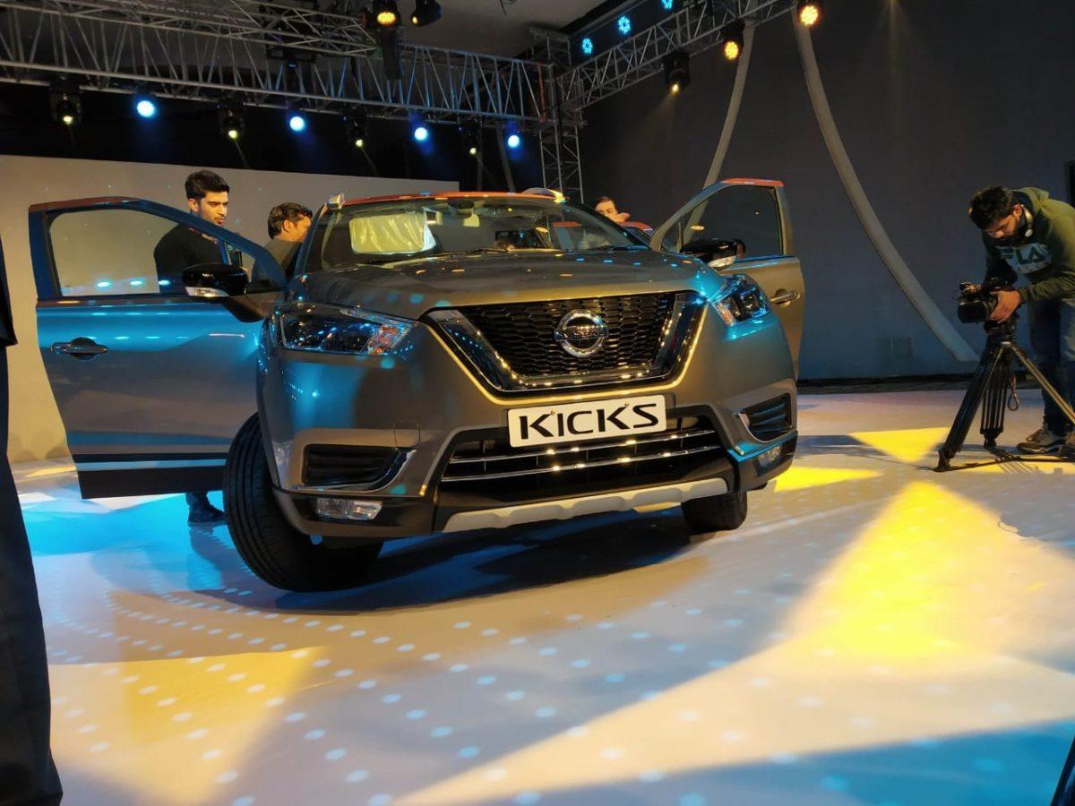 Nissan Kicks India Launch Fascia(1)